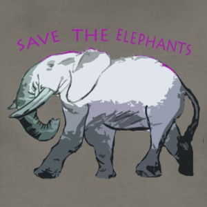 Save the Elephants  - Women's Premium T-Shirt