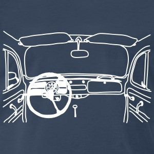 Beetle Dash Sketch by Sector 6 T-Shirts - Men's Premium T-Shirt