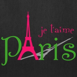 I love Paris Bags & backpacks - Tote Bag