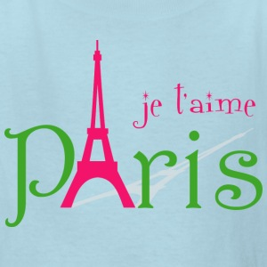 I love Paris Kids' Shirts - Kids' T-Shirt