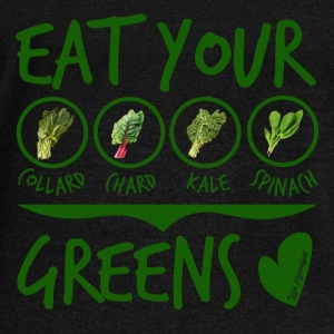 EAT YOUR GREENS - Women's Wideneck Sweatshirt