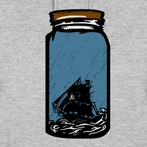 The pirate ship in the bottle Hoodies - Women's Hoodie