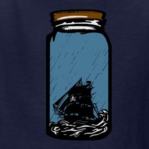 The pirate ship in the bottle Kids' Shirts - Kids' T-Shirt
