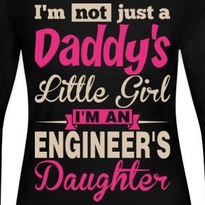 Im Not A Daddy Little Girl Im An Engineer Daughter - Women's Long Sleeve Jersey T-Shirt