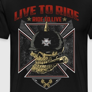 Live To Ride Ride To Live - Men's Premium T-Shirt