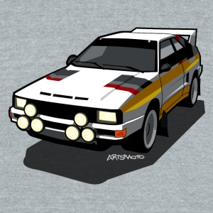 Audi Sport Rally Ur-Quattro Group B T-Shirts - Unisex Tri-Blend T-Shirt by American Apparel