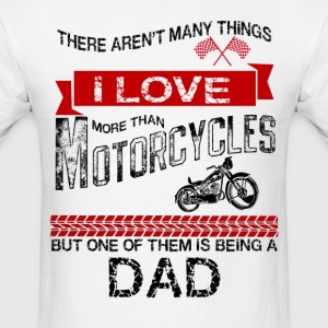 This Dad Loves Motorcycles T-Shirts - Men's T-Shirt
