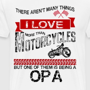 This Opa Loves Motorcycles T-Shirts - Men's Premium T-Shirt