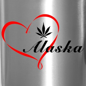 Alaska Heart Travel Mug - Travel Mug