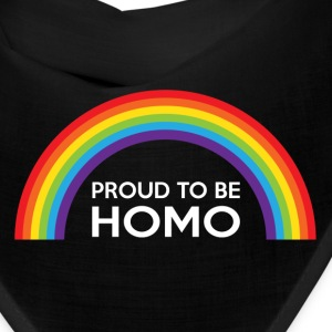 Proud To Be Homo LGBT Caps - Bandana