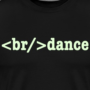 breakdance HTML Code T-Shirts - Men's Premium T-Shirt