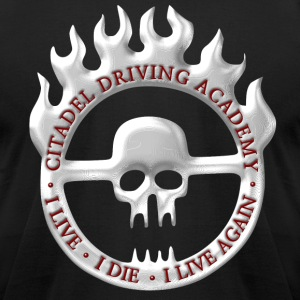 Citadel Driving Academy T-Shirts - Men's T-Shirt by American Apparel