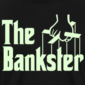 The Bankster T-Shirts - Men's Premium T-Shirt