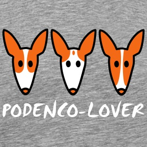 Podenco lover T-Shirts - Men's Premium T-Shirt