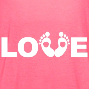 Love Baby Tanks - Women's Flowy Tank Top by Bella