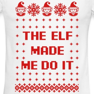 The Elf Made Me Do It T-Shirts - Men's Ringer T-Shirt