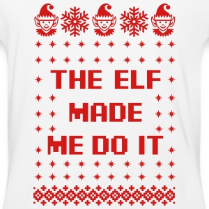 The Elf Made Me Do It T-Shirts - Baseball T-Shirt