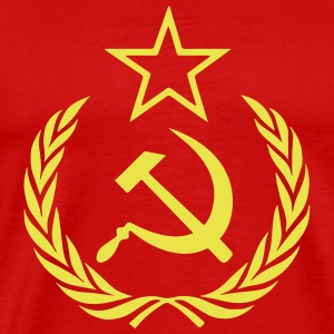 Communist Flag - Men's Premium T-Shirt