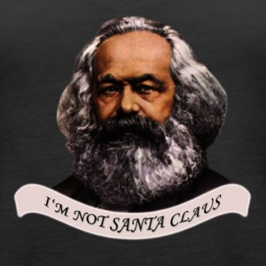 Karl is not Santa Claus Tanks - Women's Premium Tank Top