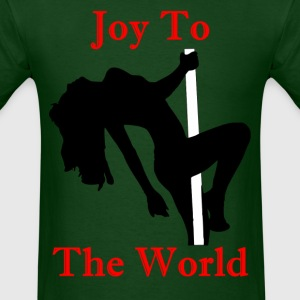 Joy To The World - Red - Men's T-Shirt