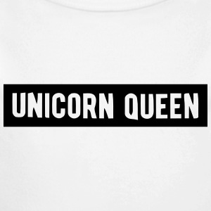 UNICORN QUEEN Baby Bodysuits - Long Sleeve Baby Bodysuit