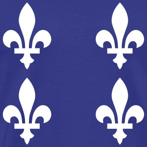 Quebec Flag - Men's Premium T-Shirt