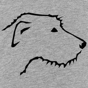 Irish Wolfhound head Baby & Toddler Shirts - Toddler Premium T-Shirt