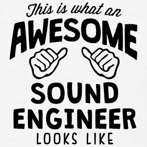 awesome sound engineer looks like T-SHIRT - Men's T-Shirt