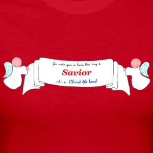Savior is Born - Women's Long Sleeve Jersey T-Shirt