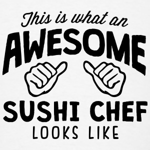 awesome sushi chef looks like T-SHIRT - Men's T-Shirt