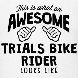 awesome trials bike rider looks like T-SHIRT - Men's T-Shirt