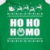 Ho Ho Homo Christmas LGBT Ugly Sweater Hoodies - Men's Hoodie