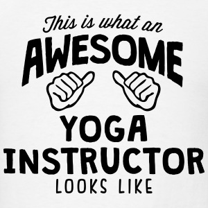 awesome yoga instructor looks like T-SHIRT - Men's T-Shirt