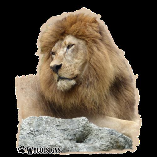 Lion Cutout