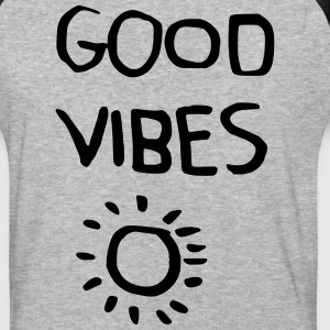 Good Vibes T-Shirts - Baseball T-Shirt