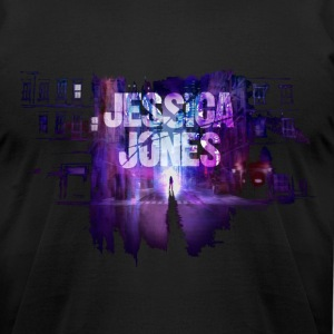 jessica jones design T-Shirts - Men's T-Shirt by American Apparel