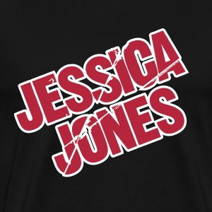 Jessica Jones Logo T-Shirts - Men's Premium T-Shirt