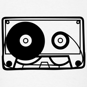 Retro Cassette Tape T-SHIRT - Men's T-Shirt