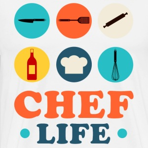 Chef Life T-Shirts - Men's Premium T-Shirt