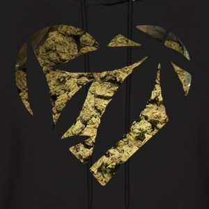 Sad Boys 2002 weed heart - Men's Hoodie