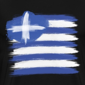Greece Flag greek T-Shirts - Men's Premium T-Shirt