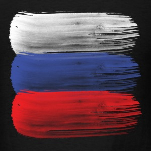 Russia flag russian T-Shirts - Men's T-Shirt