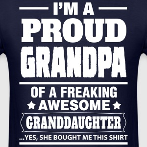 Proud Grandpa.... T-Shirts - Men's T-Shirt
