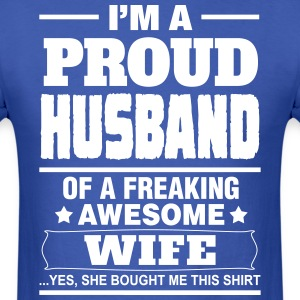 Proud Husband.... T-Shirts - Men's T-Shirt