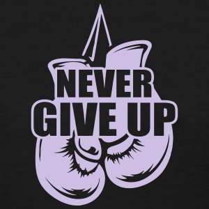 Never Give Up Appendix Cancer Awareness Women's T-Shirts - Women's T-Shirt