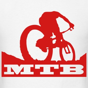 MTB Mountain Bike T-SHIRT - Men's T-Shirt