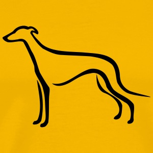 Greyhound T-Shirts - Men's Premium T-Shirt