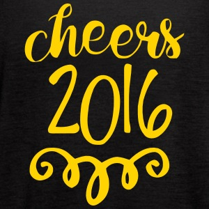 CHEERS 2016 - GOODBYE 2015 Tanks - Women's Flowy Tank Top by Bella