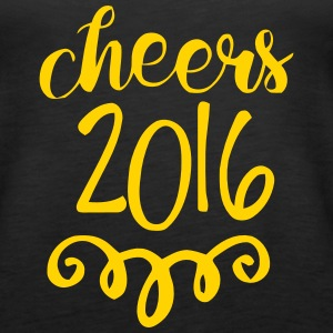 CHEERS 2016 - GOODBYE 2015 Tanks - Women's Premium Tank Top