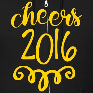 CHEERS 2016 - GOODBYE 2015 Zip Hoodies & Jackets - Men's Zip Hoodie